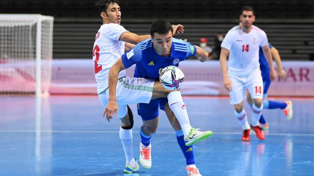Cazaquistão é o adversário de Portugal nas 'meias' do Mundial de futsal