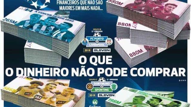 Por cá: Amorim e Conceição sem medo. O que o dinheiro não pode comprar