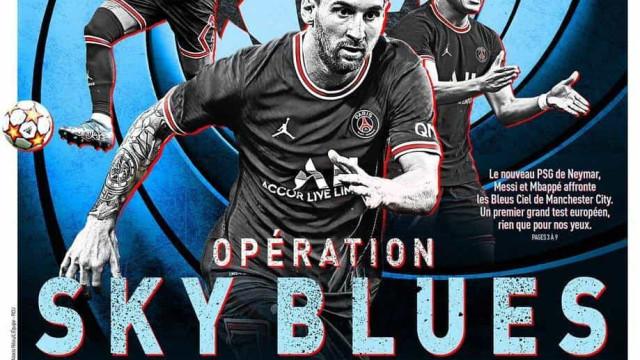 Lá fora: 'Sheriff' Benzema, o duelo de sonho e o oxigénio da Champions