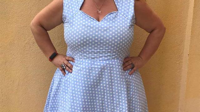Carla Vasconcelos emagreceu 28 quilos. Veja o antes e depois da atriz