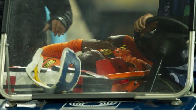 Traoré sofre lesão arrepiante e deixa o Shakthar-Inter de maca
