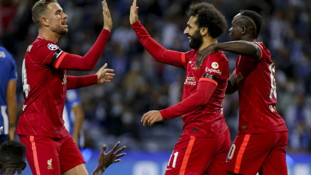 Liverpool goleia FC Porto e confirma ser carrasco no Dragão