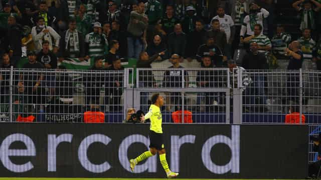 Sporting cede aos 'fantasmas' em Dortmund e volta a perder na Champions