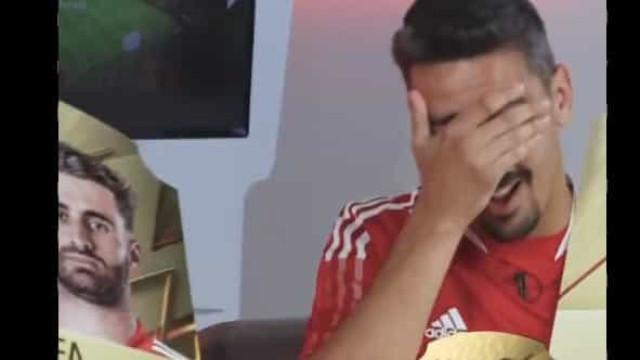 """Jogadores do Benfica reagem aos ratings do FIFA 22: """"Isto não se faz..."""""""