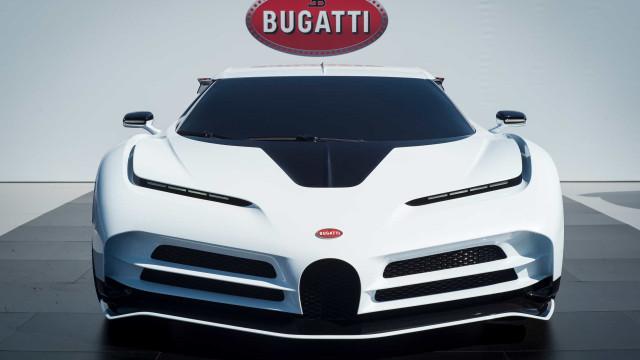 Futuro Bugatti de Cristiano Ronaldo passou testes a mais de 50 graus