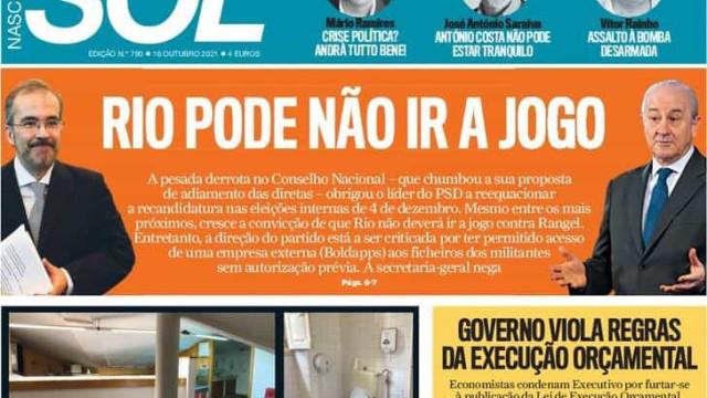 Hoje é notícia: Pandemia multiplica esplanadas; Rio pode não ir a jogo