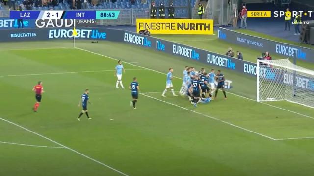 Felipe Anderson marcou e deixou jogadores do Inter em polvorosa