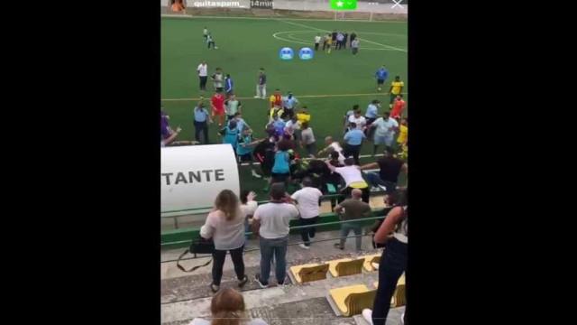 Desacatos no Olímpico Montijo-Vitória FC B. Polícia disparou para o ar