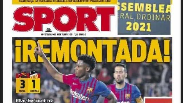 Lá fora: Barcelona encarrila, Nápoles mantém-se na linha das vitórias