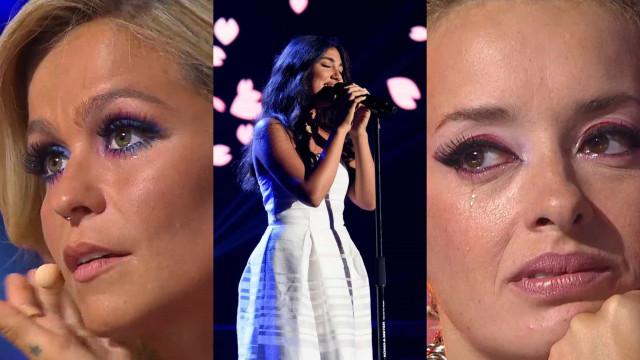 Concorrente do Irão deixa júri do 'The Voice Portugal' em lágrimas