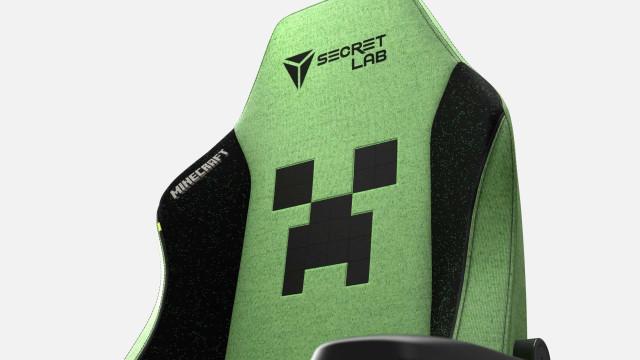 Fã de 'Minecraft'? Esta cadeira de gaming é para si