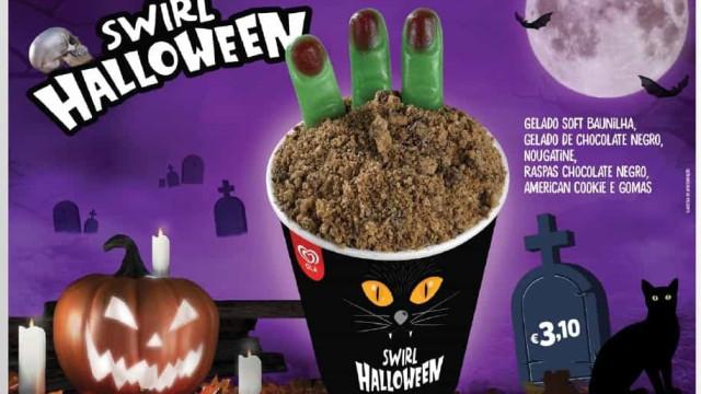 O novo Swirl da Olá é o gelado mais assustador deste Halloween