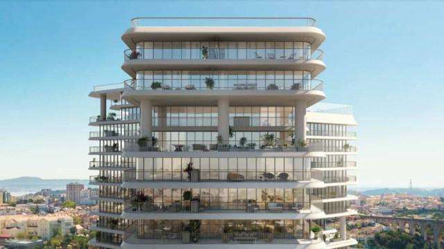Projeto residencial em Lisboa 60% vendido. Portugueses lideram as vendas