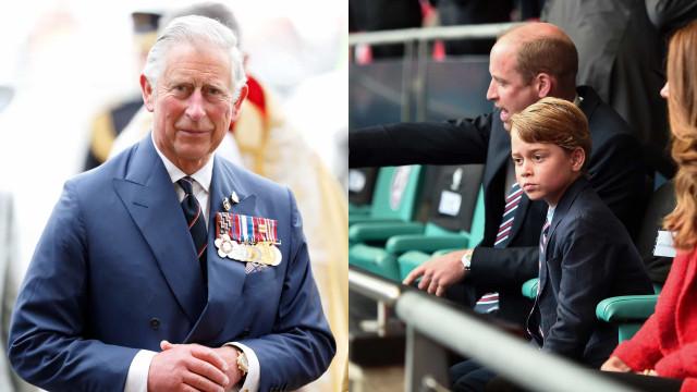 Príncipe Carlos teme pelo futuro do neto, George. O motivo