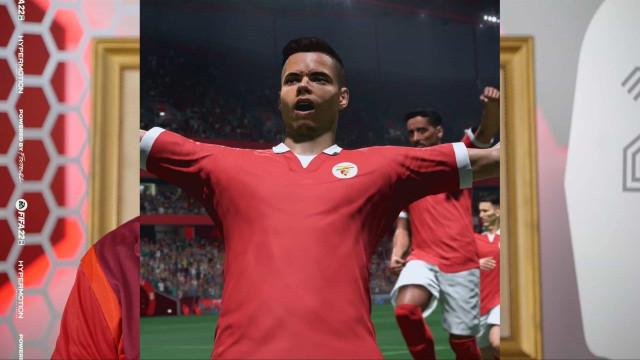 Desafio de 'FIFA 22' permite ganhar equipamentos antigos do Benfica