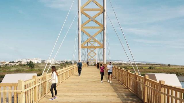 Ponte pedonal vai ligar Lisboa e Loures já no próximo ano