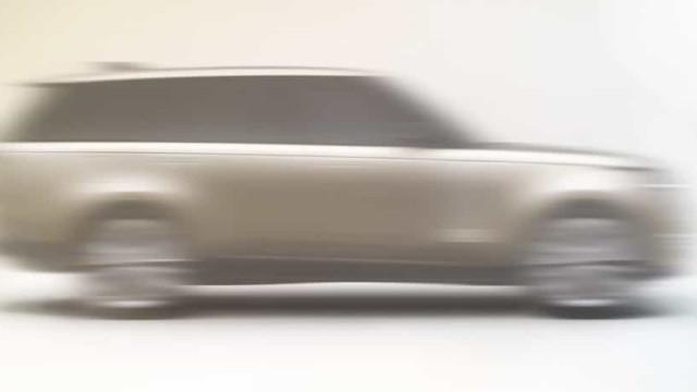 Esta é a primeira imagem revelada do novo Range Rover