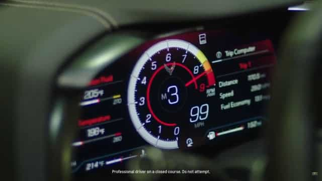 Corvette Z06 promete chegar às 8.600 rpm. Confira as imagens