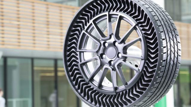 Michelin quer vender os seus pneus sem ar (e que não furam) já em 2024