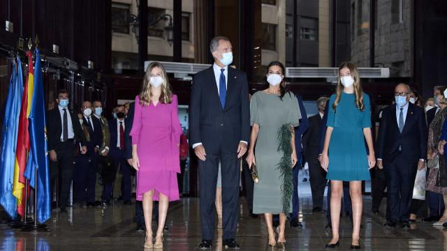 Princesa Leonor de volta a Espanha para noite única ao lado da família