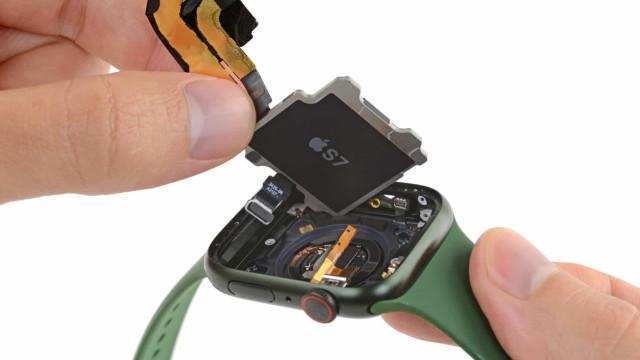 Apple Watch Series 7. Veja o interior do novo relógio da Apple