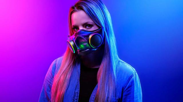 Razer já lançou máscara capaz de filtrar ar