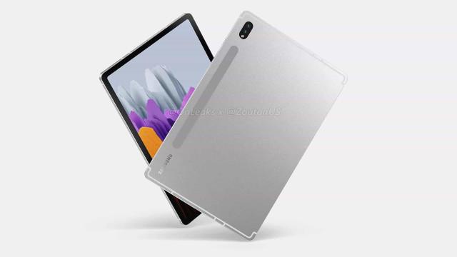 Surgiram as primeiras imagens do próximo tablet da Samsung