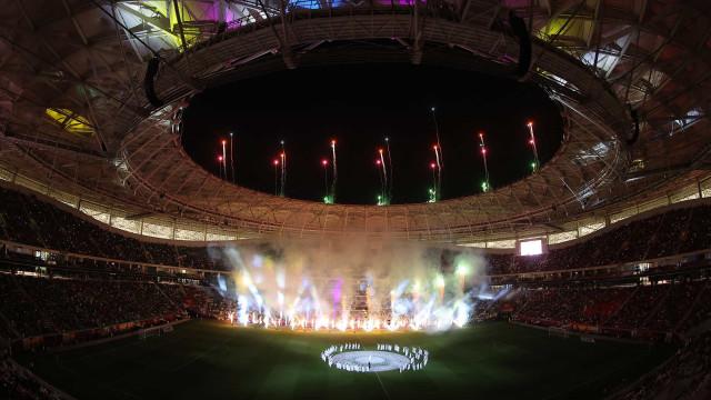 As imagens do mais recente estádio inaugurado para o Mundial'2022