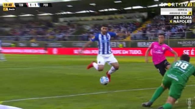 Foi assim que Taremi restabeleceu o empate no Tondela-FC Porto