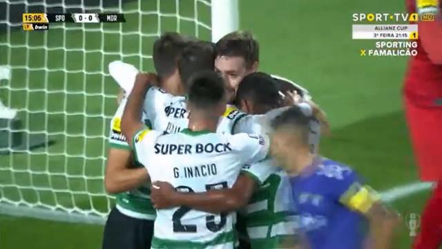 Coates confirma papel de goleador e desfaz nulo ante o Moreirense