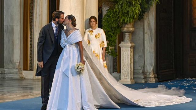 Afilhado da princesa Diana, Philippos da Grécia, casa-se com Nina Flohr