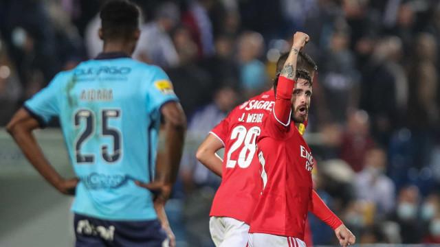 Rafa Silva salva Benfica em Vizela e agarra liderança