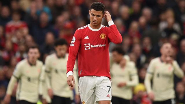 A reação de Cristiano Ronaldo à humilhação do United em Old Trafford
