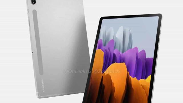 Estão a circular mais imagens do novo tablet da Samsung