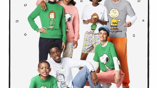 Apaixone-se pela coleção icónica Lacoste X Peanuts