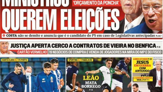 Hoje é notícia: Ministros querem eleições; Idosos? Época de gripe severa