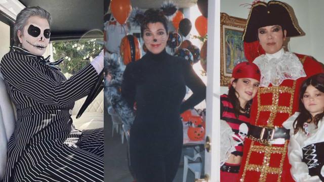 Vai festejar o Halloween? Inspire-se nos looks de Kris Jenner