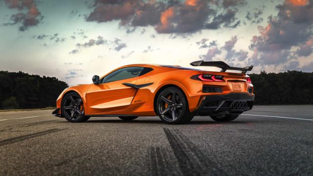Chevrolet apresenta o Corvette Z06 com o motor V8 mais potente de sempre