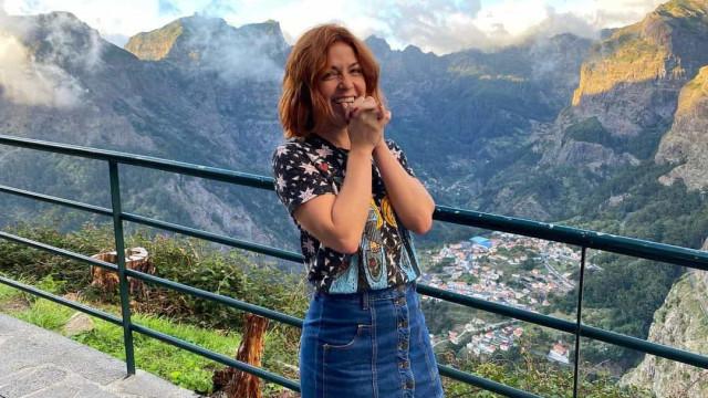 """Gabriela Barros rendida à Madeira. """"Que cenário de cortar a respiração"""""""