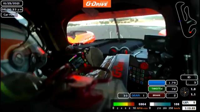 Frederico Peters conduziu LMP2 no Autódromo de Portimão. Eis as imagens