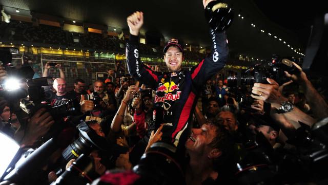 Foi há oito anos. Vettel sagrava-se tetracampeão na Índia