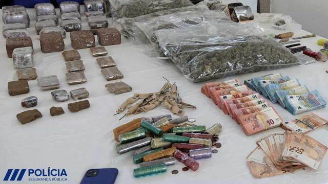 PSP de Castelo Branco realiza a maior apreensão de droga. Veja as imagens