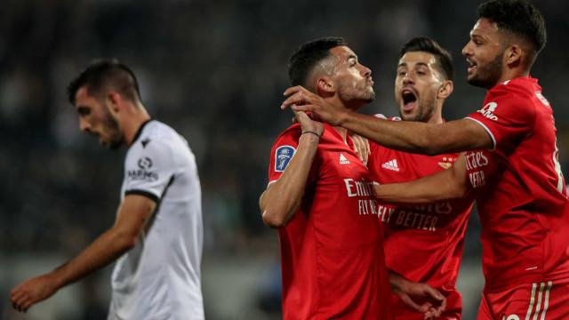[2-3] Vitória SC-Benfica: Quaresma atira à barra