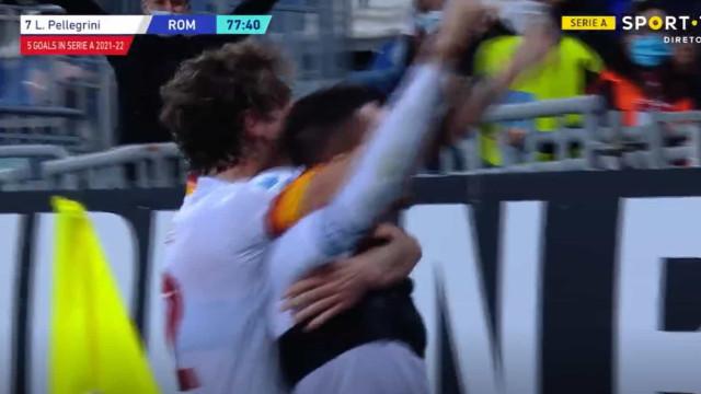 O golaço de Pellegrini que deu uma vitória suada a Mourinho
