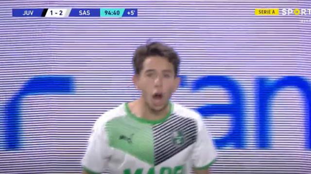 Maxime Lopez deu 'machadada' final na Juve e festejou à... Ronaldo