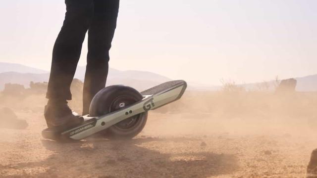 Este monociclo pode ser a nova solução de mobilidade em grandes cidades