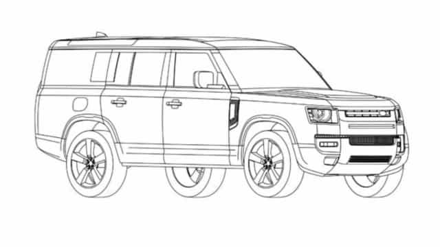 Novo Land Rover Defender 130 deverá ser assim