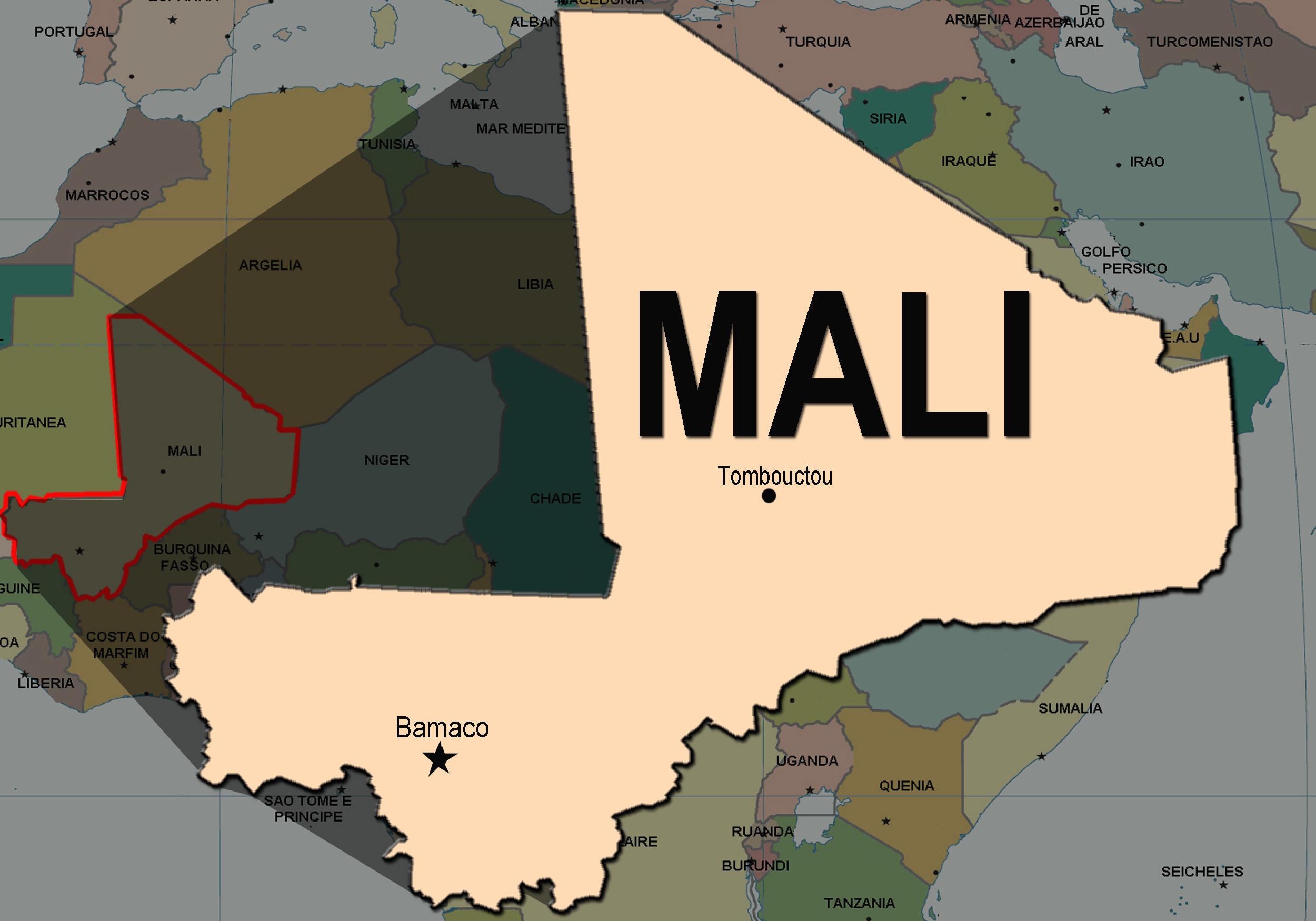 Número de militares mortos no Mali sobe para 13