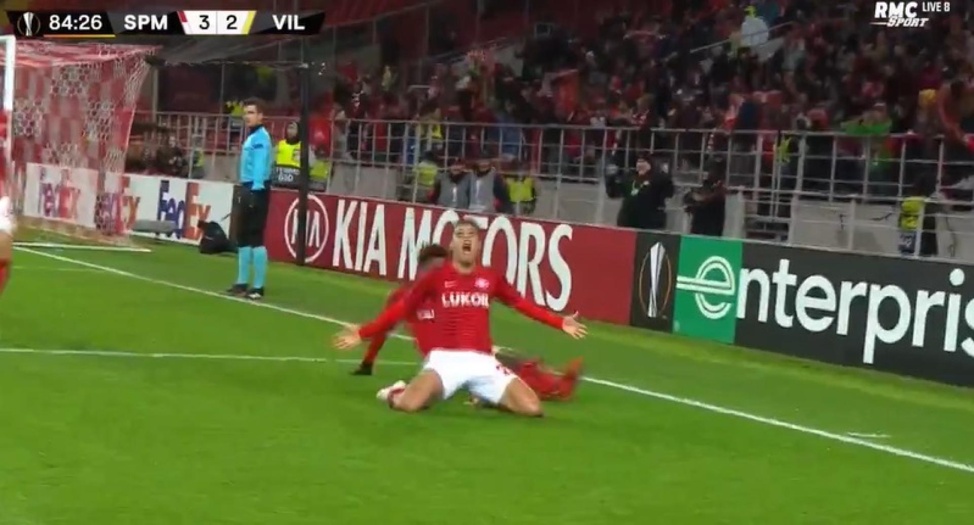 Melgarejo (lembra-se dele?) também fez o gosto ao pé na Liga Europa