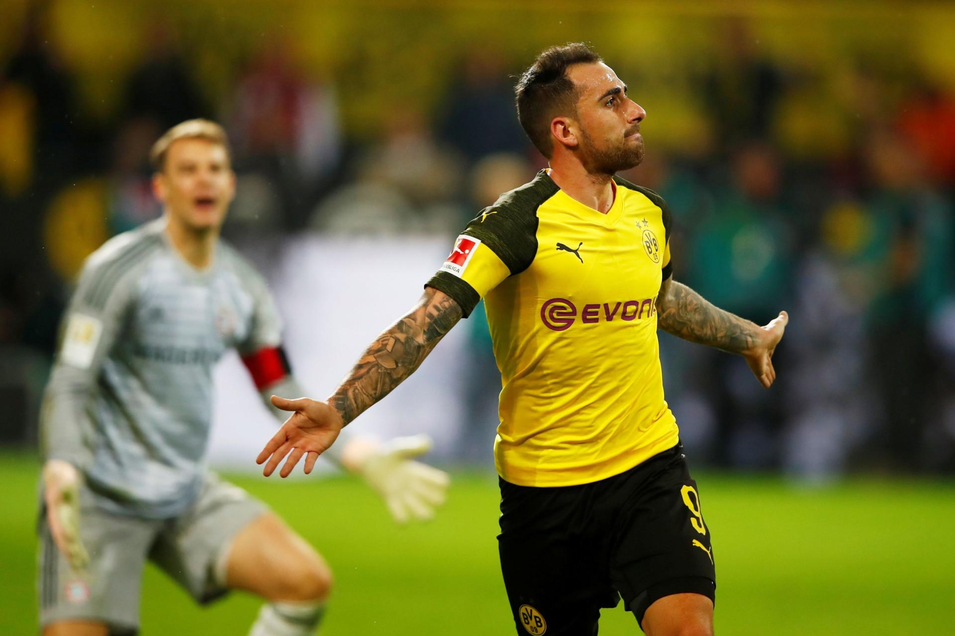 Contra-ataque fulminante do Dortmund ditou sorte no 'Der Klassiker'